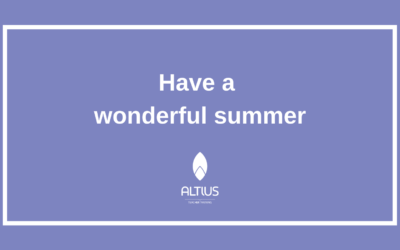 End of year message from Altius